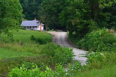 Photograph - Country Driveway by Kathryn Meyer