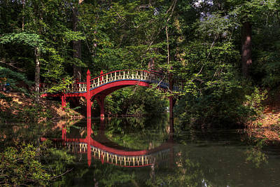 Photograph - Crim Dell Bridge by Jerry Gammon