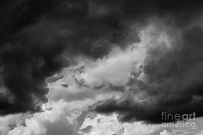 Photograph - Cumulus Clouds With Vertical Growth by Jim Corwin