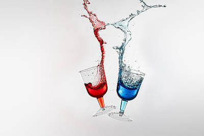 Photograph - Dancing Drinks by Peter Lakomy