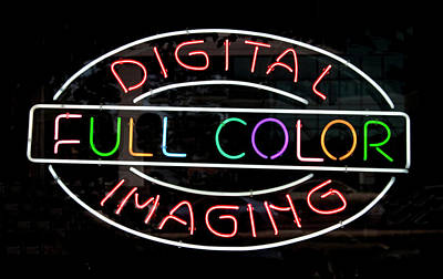 Photograph - Digital Full Color Imaging by Carl Purcell