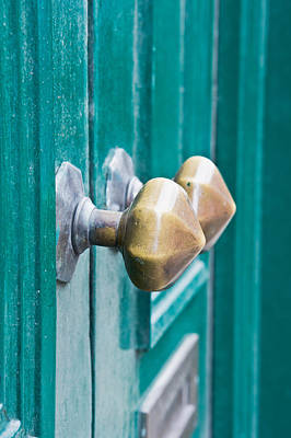 Knocker Photograph - Door Handles by Tom Gowanlock
