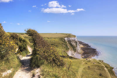 White Cliffs Of Dover Photograph - Dover - England by Joana Kruse