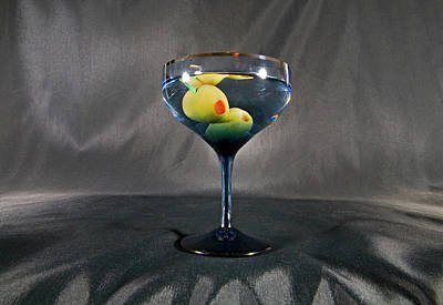 Martini Royalty-Free and Rights-Managed Images - Dry Martini by Buddy Mays