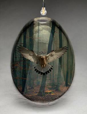 Bald Eagle Art Mixed Media - Eagle Art by Marvin Blaine