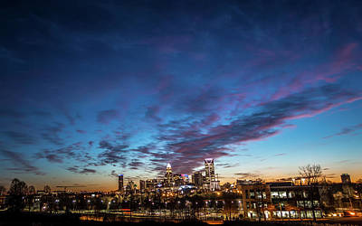 Photograph - Early Morning In Charlotte North Carolina by Alex Grichenko