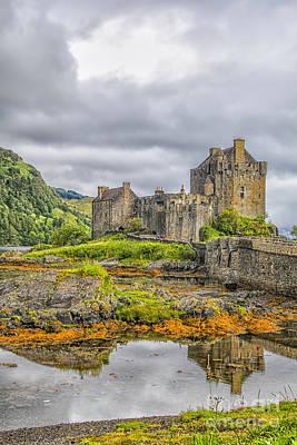 Photograph - Eilean Donan Castle by Patricia Hofmeester