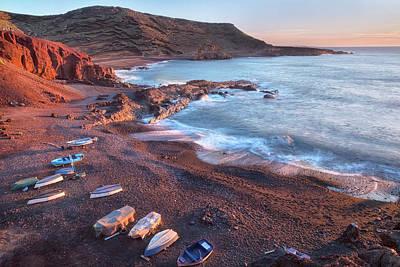 El Golfo - Lanzarote Art Print by Joana Kruse