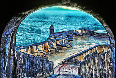 El Morro Fortress Old San Juan Print by Thomas R Fletcher