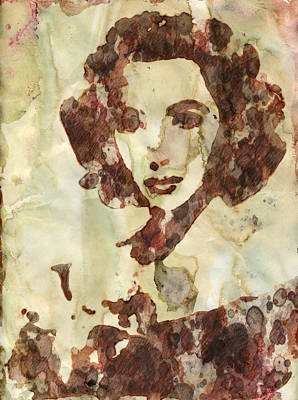 Einstein Painting - Elizabeth Taylor by Esoterica Art Agency