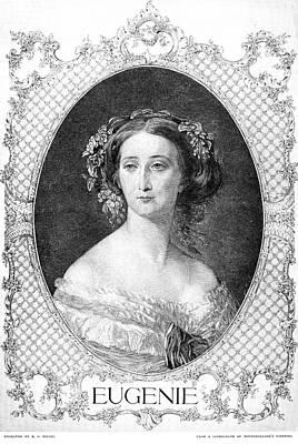 Empress Eugenie Of France Art Print by Granger