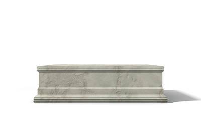Void Digital Art - Empty Trophy Base by Allan Swart