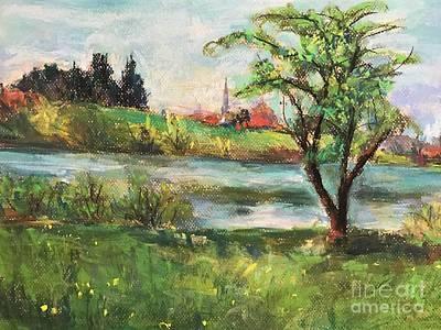 Painting - Fall by Jieming Wang