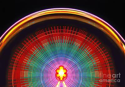 Thomas Kinkade - Ferris wheel by Cristian M Vela
