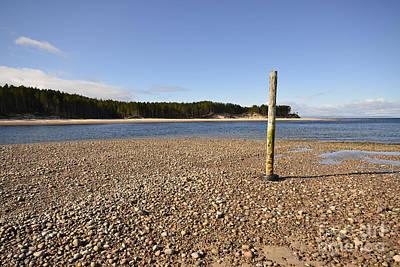 Coast Photograph - Findhorn by Nichola Denny