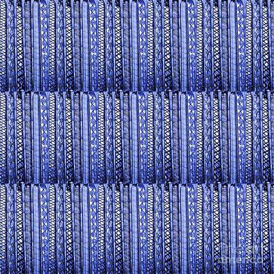 Rights Managed Images Painting - Fineart From Wire Mesh Jewellery Unique Patterns N Textures By Navinjoshi At Fineartamerica.com Usa  by Navin Joshi