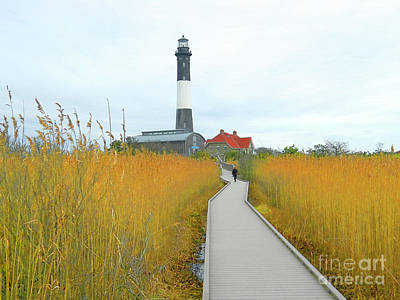 Photograph - Fire Island Lighthouse by Raymond Earley