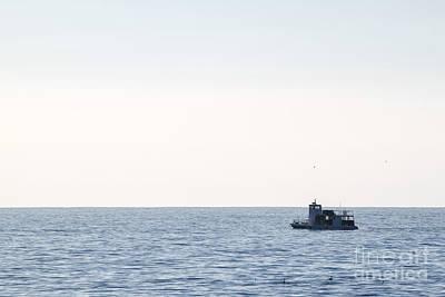 Photograph - Fishing Boat by Henrik Lehnerer