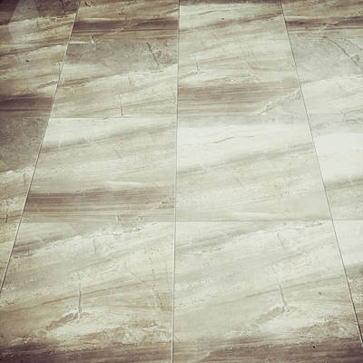 Marble Slabs Photograph - Floor Tiles by Tom Gowanlock