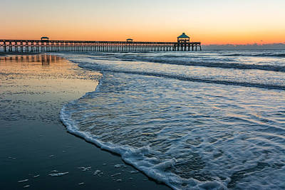 Folly Beach Art Print