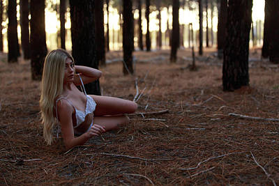 Potraiture Photograph - Forest Mystique - The Cube Magazine, Milan - Italy by Bharathan Kangatheran