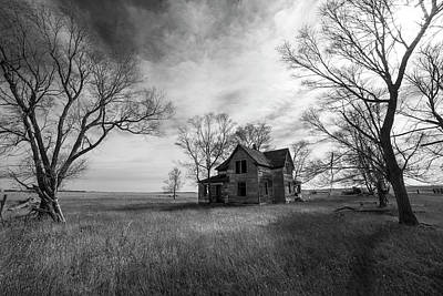 Abandoned House Wall Art - Photograph - Forgotten  by Aaron J Groen
