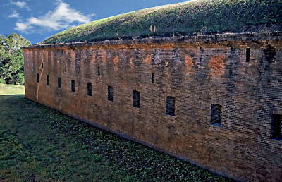 Photograph - Fort Barrancas by Anthony Dezenzio