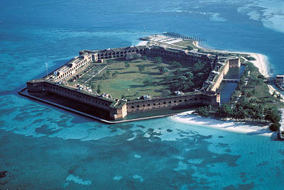 Fort Jefferson Original by Carl Purcell