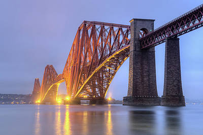Photograph - Forth Bridge by Ray Devlin
