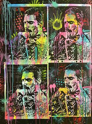 Freddie Mercury Wall Art - Painting - 4 Freddie by Dean Russo Art