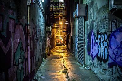 Photograph - Freeman Alley by Robert J Caputo