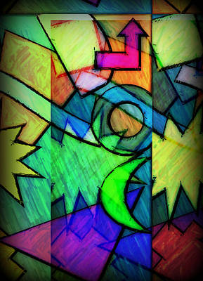 Digital Art - Funky Fanfare by Kyle West