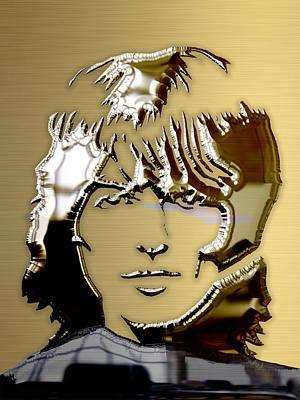 George Harrison Art Print by Marvin Blaine