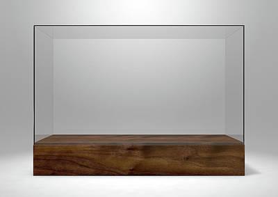 Nothing Digital Art - Glass Display Case by Allan Swart