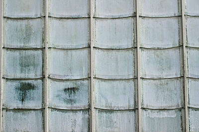 Grid Photograph - Glass Tiles by Tom Gowanlock