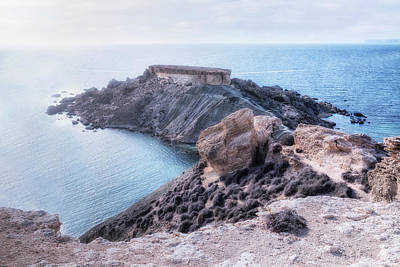Golden Bay Photograph - Gnejna Bay - Malta by Joana Kruse
