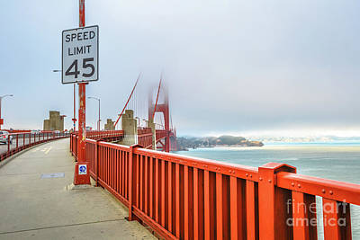 Photograph - Golden Gate Bridge by Benny Marty