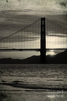 Popstar And Musician Paintings Royalty Free Images - Golden Gate Bridge in San Francisco Royalty-Free Image by ELITE IMAGE photography By Chad McDermott