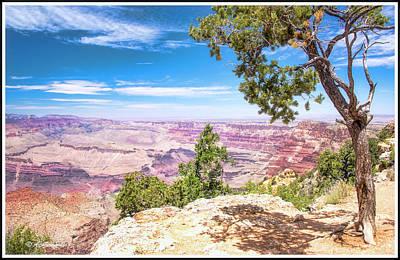 Grand Cayon Photograph - Grand Canyon, Arizona by A Gurmankin