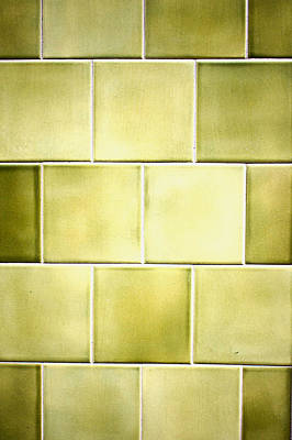 Realistic Photograph - Green Tiles by Tom Gowanlock
