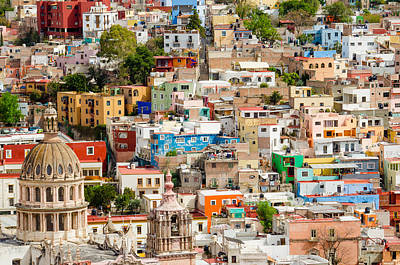 Rights Managed Images Photograph - Guanajuato, Mexico. by Rob Huntley
