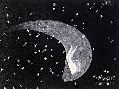Halleys Comet, 1835 Art Print by Science Source