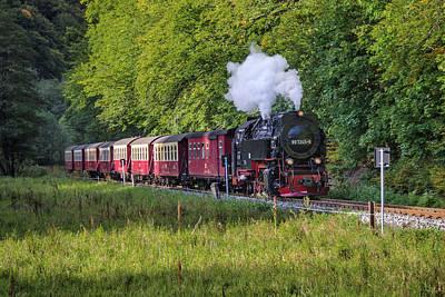 Harzquerbahn Art Print