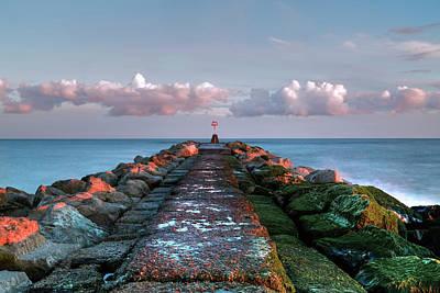 Groyne Photograph - Hengistbury Head - England by Joana Kruse