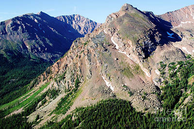 Steve Krull Royalty-Free and Rights-Managed Images - Hiking the Mount Massive Summit by Steve Krull