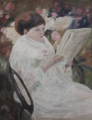 Painting - Homage To Cassatt by Masami Iida