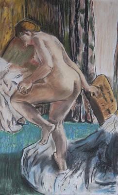Photograph - homage to Degas by Masami Iida