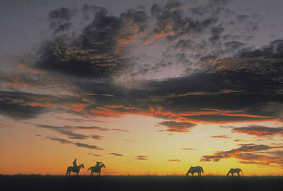 Photograph - Home On The Range by Carl Purcell