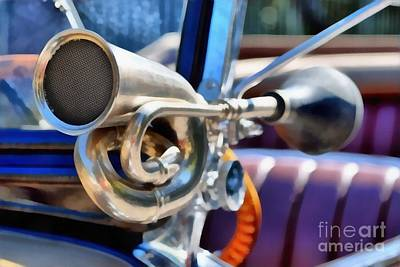 Event Painting - Horn On 1929 Chevrolet International 2ac by George Atsametakis