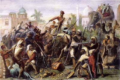 India: Sepoy Mutiny, 1857 Print by Granger